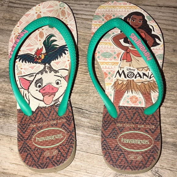 2d26490aaa73 Havaianas Other - Girls Moana Havaiana Flip Flops